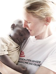 Mdecins Sans Frontires / Doctors Without Borders (Tomasito.!) Tags: world africa leica portrait people woman baby love nature girl beautiful smile dedication norway shirt photoshop macintosh nose happy lumix 1 photo interesting eyes mac nikon asia europe peace child power emotion humanity earth sudan unity philippines mother picture ears best panasonic health doctor beautifulwoman highkey nurse scandinavia motherhood drama jt tender endearing inspiring humanitarian ngo redcross cradle nobelprize noriega msf wearetheworld kodakmoment tomasito d90 mostbeautiful doctorswithoutborders loveyouforever womancarryingchild panasonicdmctz10