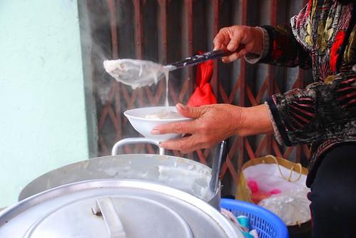 porridge  pour