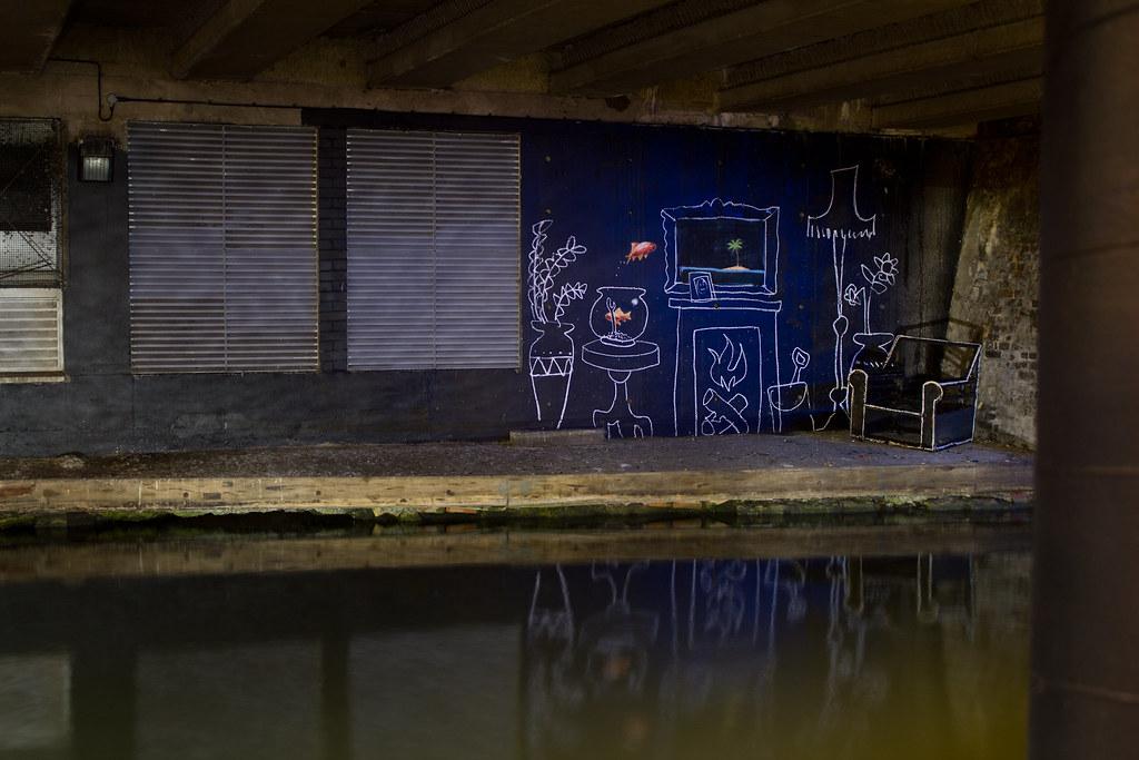 Banksy - Goldfish
