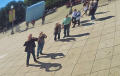 Linear Photographers (sea turtle) Tags: chicago illinois millenniumpark park millennium sculpture anishkapoor cloudgate thebean stainlesssteel reflection reflections mirror mirrors city urban