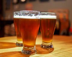 9/23/16 Beers with Buds (Karol A Olson) Tags: beer heavyseas pounder crossbones cutlass ale lager taproom sep16