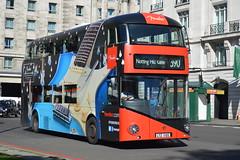 THIRD VERSION OF FENDER  LT 100 (hotspur_star) Tags: londontransport londonbuses londonbus londonbuses2016 wrightbus borisbus borismaster newbusforlondon newroutemaster nb4l tfl transportforlondon hybridtechnology hybridbus busscene2016 doubledeck metrolinelondon lt100 ltz1100 390 alloveradvert advertlivery advertisinglivery advertbus fenderguitars