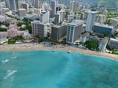 (Mitchell Lafrance) Tags: 2016 vacation travel holiday hawaii oahu helicopter waikikibeach moanasurfrider royalhawaiianhotel