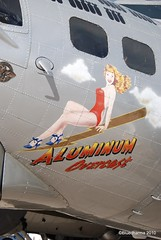 B-17 Aluminum Overcast (Bluedharma) Tags: colorado wwii denver b17 ww2 apa bomber flyingfortress noseart aluminumovercast kapa b17g centennialairport aviationphotography nikond80 coloradophotographer n5017n bluedharma coloradoshooter