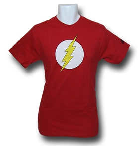 flash superhero t shirt