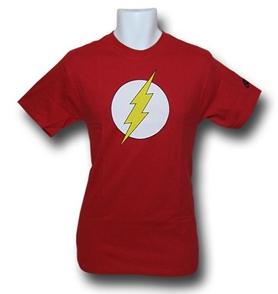 flash superhero t shirt