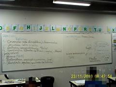 Rotina (23/11/2010) e esboço das observações