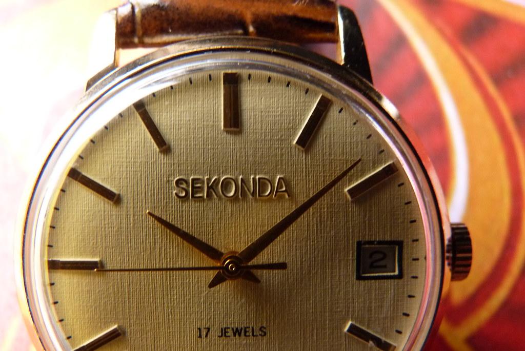 Наручные часы Sekonda Сделано в СССР