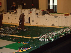 Lego Fanwelt Cologne 2010 (Legoorci) Tags: light mountain brick castle lego avatar cologne carneval 2010 moc fanwelt legoorci