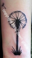 www.dawngrace.com (professional tattooing by dawn grace) Tags: grass fly buttercup seed dandelion seeds lucky wish makeawish blacktribalgraphictattoostattooingtattoodawngracefemaleartistchicagotatootatoostatooingtatooerillinoiswomanprofessionalgreycolorcolourmehndihennaindiaindianasiaasiantreetreesswirlivyswirlsstarstarsleafleavesrealisticar