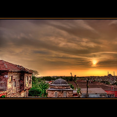 Istanbul - Sunset (Filip Nystedt) Tags: sunset sky clouds turkey europa himmel istanbul mosque canonef2470mm28lusm hdr solnedgng moln coth flickraward sultanselimcamii canon5dmarkii magicunicornverybest magicunicornmasterpiece galleryofdreams flickraward5 exoticimage