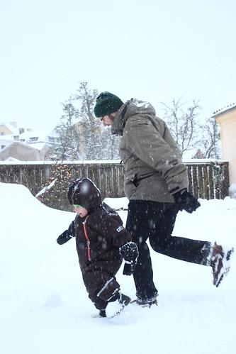 Gusten busar med farbror Fredrik