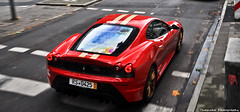 Ferrari 430 Scuderia (ThomvdN) Tags: november red photoshop germany golden nikon italia automotive ferrari thom bella dsseldorf scuderia vr 2010 430 lightroom carphotography 18105 cs3 d5000 bmjtcrew thomvdn