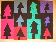 Kathie's free-style trees