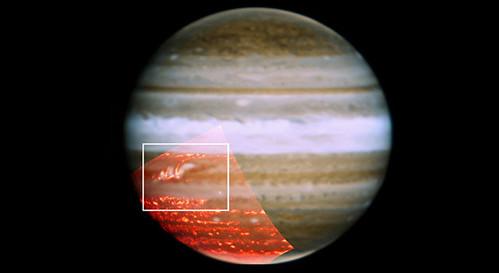 Cinturón Ecuatorial Sur en Júpiter