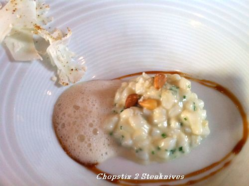 risotto of squid