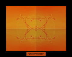 Estructuras para una arquitectura efmera (3/3) (Ana Lpez Heredia) Tags: barcelona color luz bamboo amarillo naranja wacom catalua pentablet paisajeurbano konicaminolta instantes dimagez5 delicadeza konicaminoltadimagez5 bamboowacom arquitecturaefmera analpezheredia