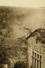 Smoke at Aubeterre (sweatmanrory) Tags: labellefrance perigordmood frenchatmosphere