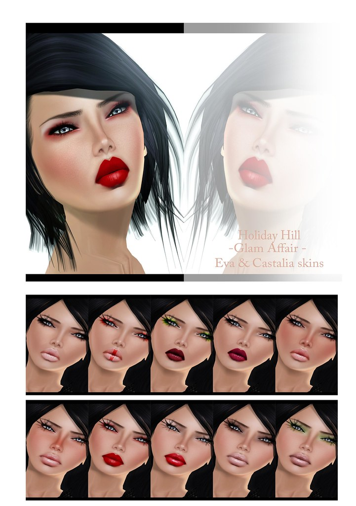 Holiday Hill-Glam Affair-Eza&Castalia Skins