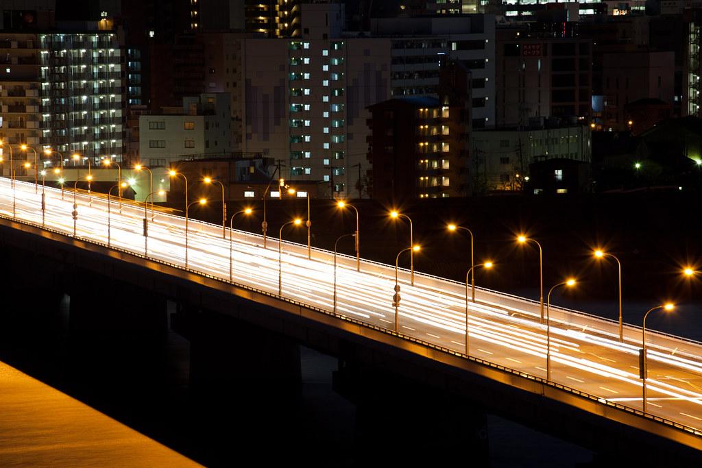 Bridge over Yodo river