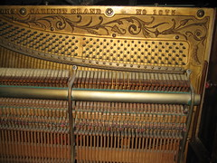 Berlin Piano - inside right side (before restoration) (Ponyta!) Tags: music ontario berlin montral antique montreal victorian piano kitchener beethoven restored classical upright mozart musique vivaldi droit classique victorien restaur