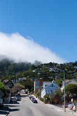 Foggy day in Sausalito (holidayslush) Tags: california house fog nikon hill foggy sausalito d90 aycj2010