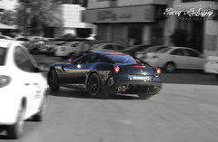 Ferrari GTO 599 | Drift (Tareq Abuhajjaj | Photography & Design) Tags: auto roof light italy black cars car race speed dark photography design big nikon flickr italia power top side wheels fast f1 ferrari saudi arabia gto carbon rims riyadh  drift v12 ksa   070 599 tareq 2011          d700 dhia         tareqdesigncom tareqmoon tareqdesign  abuhajjaj  1of599