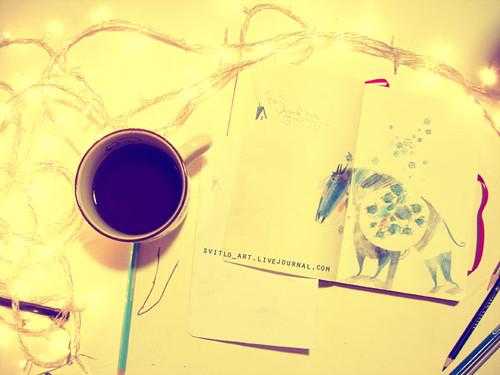 blue winter sleep