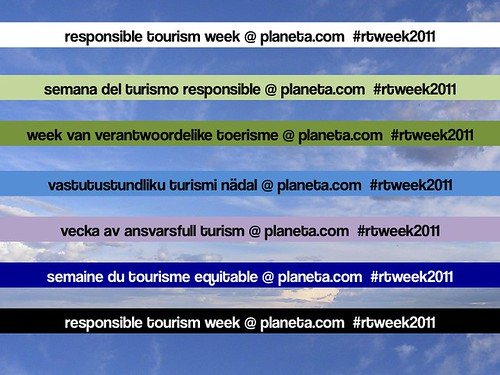 Responsible Tourism Week 2011