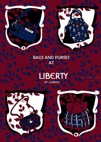 Bags at Libertys