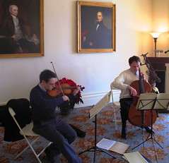 Holiday Cheer at the Jay House on St. Nicholas Day - Cello and Violin Concert December 6 (Jay Heritage Center) Tags: house ny heritage home john jay photos interior center rye peter hudsonrivervalley augustus paththroughhistory