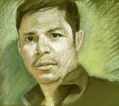 omarpaint for JKPP (Linda Vanysacker - Van den Mooter) Tags: portrait sketch drawing pastel dessin linda portret croquis tekening schets vanysacker jkpp juliakayportrait visiblytalented omarpaint vandenmooter