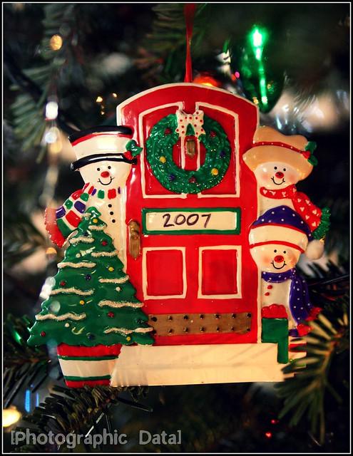 xmas ornament 2007