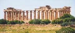 Selinonte, Sicile - temple grec (LaurPhil) Tags: temple sicily sicilia selinunte hera greektemple sicile selinonte templegrec