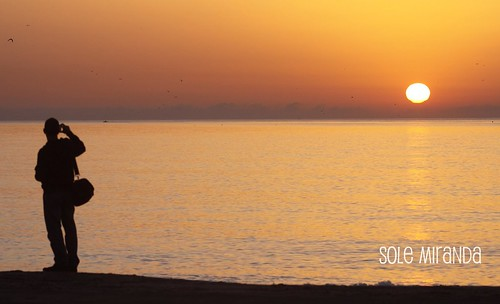 Amanecer playa Sole octubre 2010-3