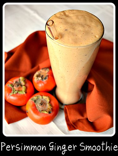 Persimmon Ginger Smoothie 2