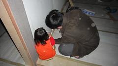 20101209-小米拉也很認真的在看線路