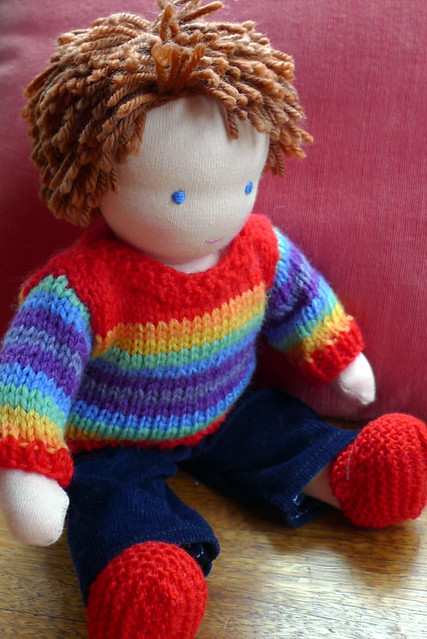 Nigel's doll