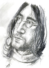 l e n n o n (shed-E) Tags: portrait musician john peace imagine beatles lennon johnlennon shede