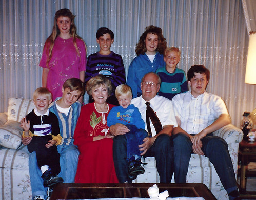 grandkids at 40th anniversary Oct 1992