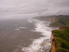 Cocoi, costa de la Araucana, CHILE. (Victor Raimilla) Tags: chile regin de la araucana cocoi costa del pacfico pacific coast acantilado falsia cliff paisaje paisagem landscape
