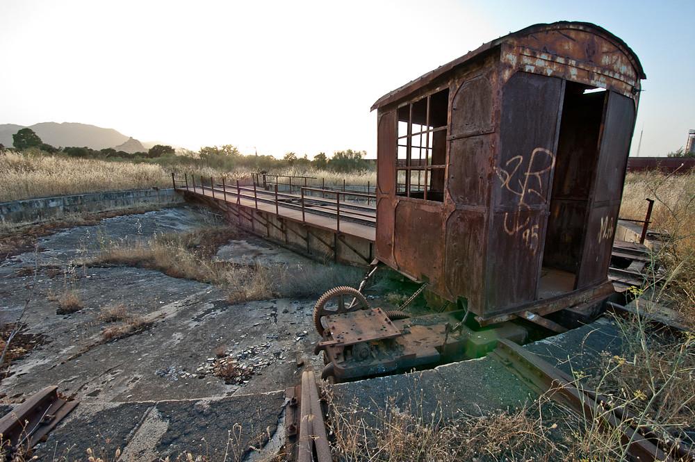 El puente giratorio ferroviario de Almorchón