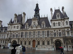 Htel de Ville of Paris (darth_sweder) Tags: paris france hteldeville pariscityhall hteldevilleparis