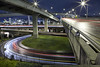 Fremont 3 (Ben Canales) Tags: longexposure bridge night oregon portland highway i5 5 405 pdx fremontbridge traffictrails bencanales thestartrailcom