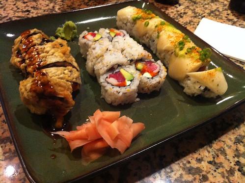 Sushi from Ryu Sushi, Memphis, Tenn.