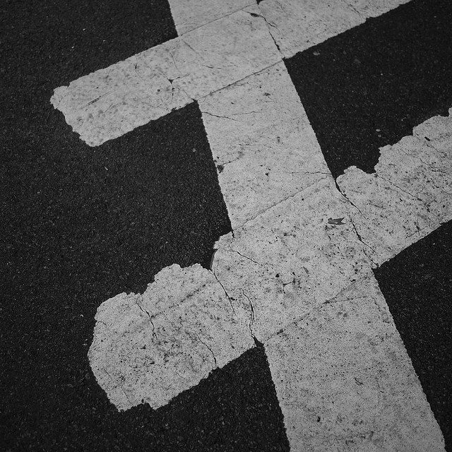 abstract crosswalk #walkingtoworktoday