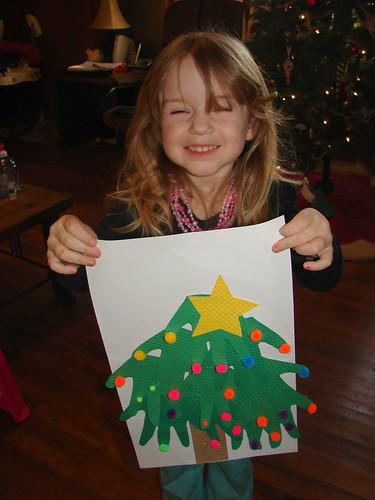 Handprint Tree 6