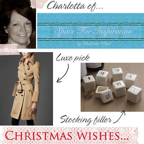 Christmas wishes Charlotta