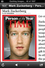 Mark Zuckerberg: 2010 Time Person of the Year