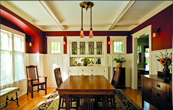 bungalow_diningroom_wainscotting_red